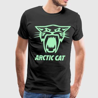 Arctic Cat Saber Screen Printed Black Long Sleeve - Men's Premium T-Shirt