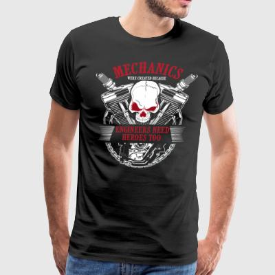 MECHANIC SHIRT | ENGINEERS NEED HEROES TOO - Men's Premium T-Shirt