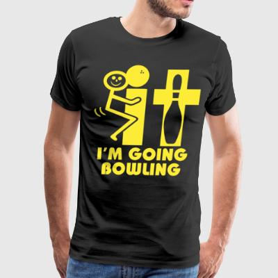 It i'm going bowling - Men's Premium T-Shirt