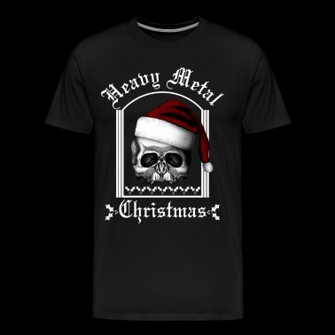 Heavy metal Christmas BLS - Men's Premium T-Shirt