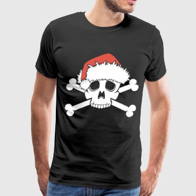 EMO SANTA SKULL MERRY NIGHTMARE CHRISTMAS SKELETON - Men's Premium T-Shirt
