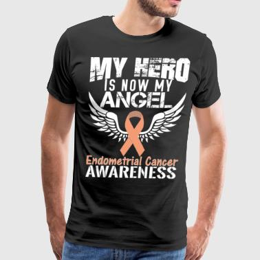 Endometrial Cancer Awareness - Men's Premium T-Shirt