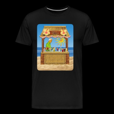 Sunset Tiki - Men's Premium T-Shirt