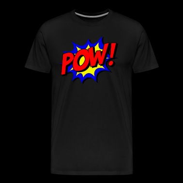 pow comic kids - Men's Premium T-Shirt