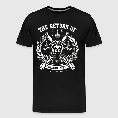 The Return of the Silent King - Men's Premium T-Shirt