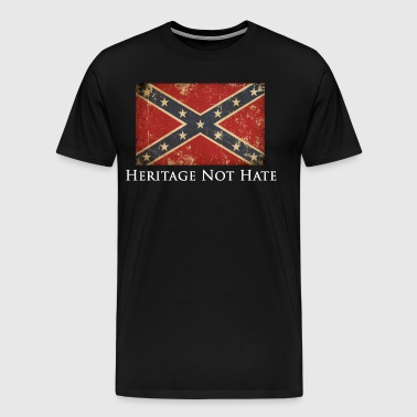 Heritage Not Hate - Men's Premium T-Shirt