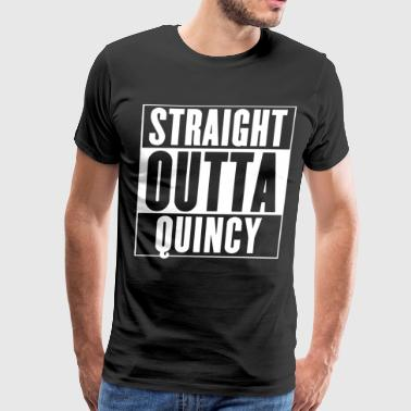 straight outta quincy brother t shirts - Men's Premium T-Shirt