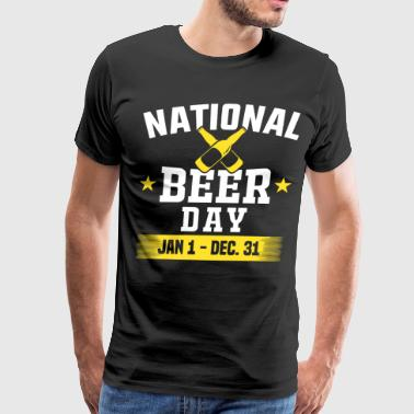 National beer day january 1 to December 31 - Men's Premium T-Shirt