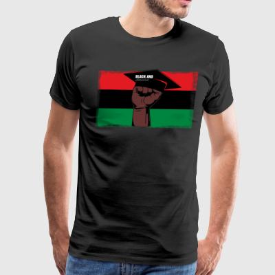 Black And Educated - Men's Premium T-Shirt
