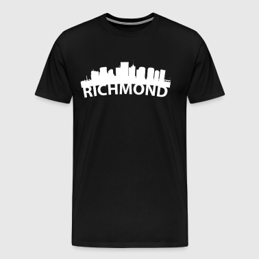 Arc Skyline Of Richmond VA - Men's Premium T-Shirt