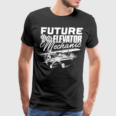 Mechanic Shirt - Future Elevator Mechanic Shirt - Men's Premium T-Shirt