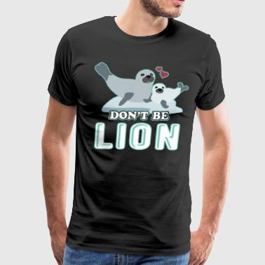 Sea Lion T Shirt - Men's Premium T-Shirt