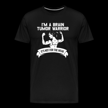 Brain Cancer Awareness I am a Brain Tumor Warrior - Men's Premium T-Shirt