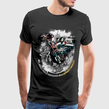 Overwatch: Reinhardt 2 - Men's Premium T-Shirt
