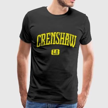 Crenshaw California La Los Angeles California T Sh - Men's Premium T-Shirt