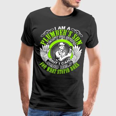 I Am A Plumber's Son T Shirt - Men's Premium T-Shirt