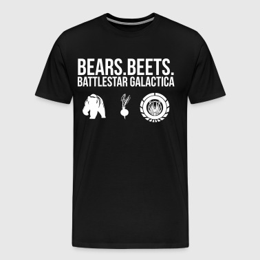 BEARS.BEETS.BATTLESTAR 2 - Men's Premium T-Shirt