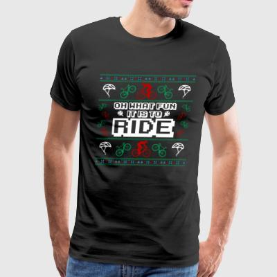OH WHAT FUN IT IS TO RIDE - Men's Premium T-Shirt