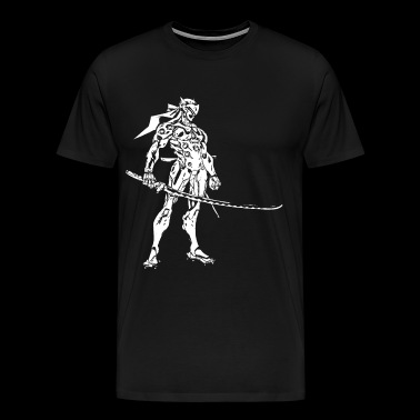 genji sword style - Men's Premium T-Shirt