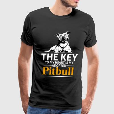 This Girl Loves Her Pit Bull - Men's Premium T-Shirt