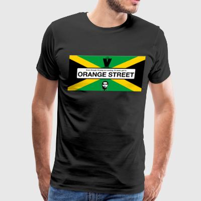 Orange Street JA - Men's Premium T-Shirt