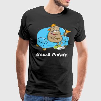 Couch Potato - Men's Premium T-Shirt