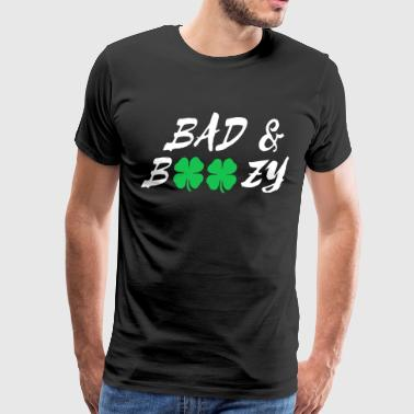 Bad & Boozy Tee Shirt - Men's Premium T-Shirt