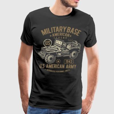 Military Base American Legend - Men's Premium T-Shirt