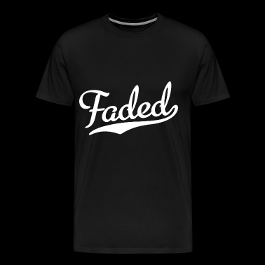 Faded Script Kush Weed Stoner Stoned Baseball T Sh - Men's Premium T-Shirt