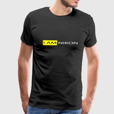 I AM NIKON - Men's Premium T-Shirt