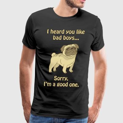 Good boy pug - Men's Premium T-Shirt