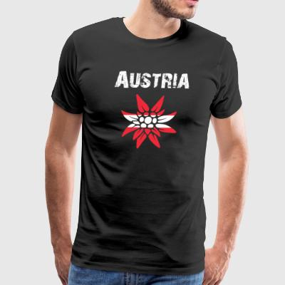 Nation-Design Austria Edelsweiss - Men's Premium T-Shirt