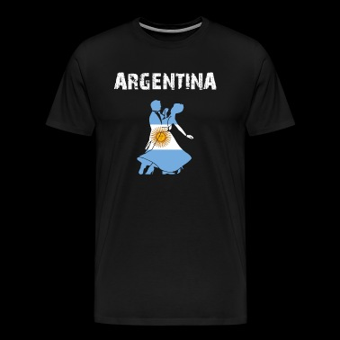 Nation-Design Argentina Tango kaFjY - Men's Premium T-Shirt