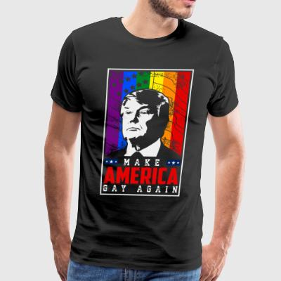 Make America Gay Again - Men's Premium T-Shirt
