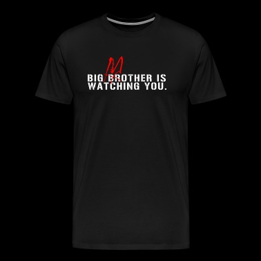 Big Mother Is Watching You Pink Floyd Roger Wate - Men's Premium T-Shirt