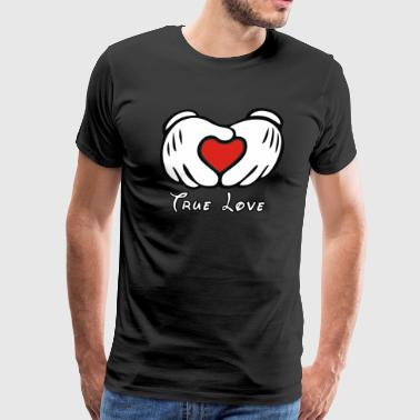 Mickey et L amour - Men's Premium T-Shirt