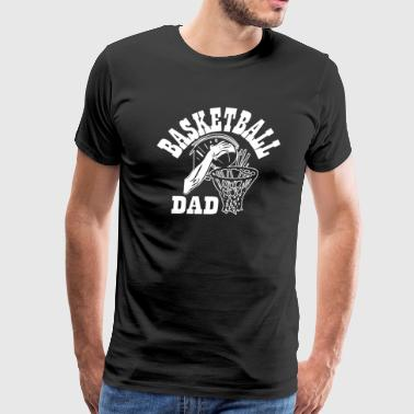 Basketball Dad Father and Son - Men's Premium T-Shirt