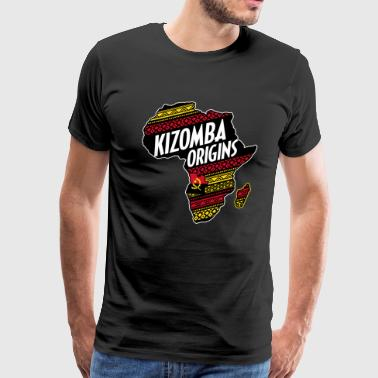 kizomba origins - Men's Premium T-Shirt