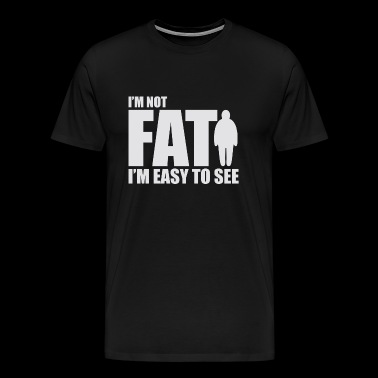 Fat Cool Joke - Men's Premium T-Shirt