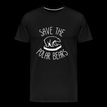 Save the Polar Bears - Men's Premium T-Shirt