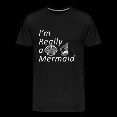 Sexy anime girls - Sassy | Im Really A Mermaid - Men's Premium T-Shirt