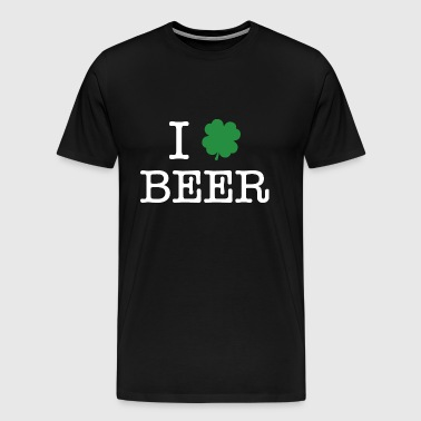 I Shamrock Beer - Men's Premium T-Shirt