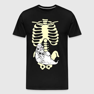Halloween Ghost Candy Please - Men's Premium T-Shirt