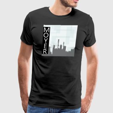 MOYER. - City - Men's Premium T-Shirt