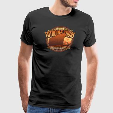 Crawl the Sands in Luxury Tatooine Tours - Men's Premium T-Shirt