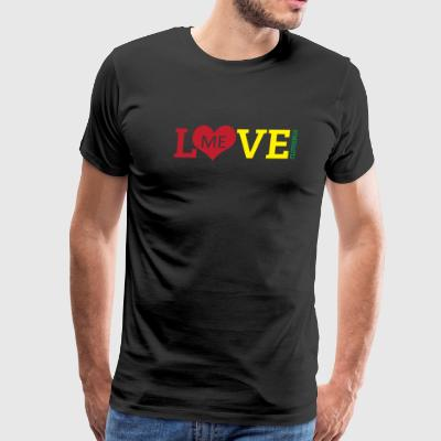 Love Me Clothing - Rasta Edition - Men's Premium T-Shirt