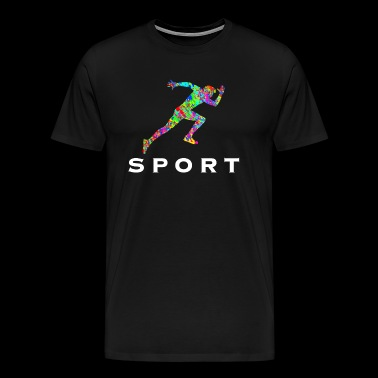 Sport Fitness Athlete - Men's Premium T-Shirt