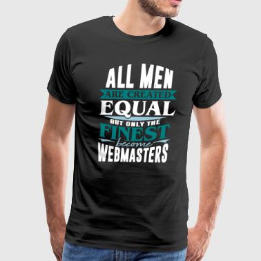 webmaster internet engineering computer pc - Men's Premium T-Shirt