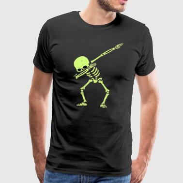 Dabbing Skeleton - Men's Premium T-Shirt