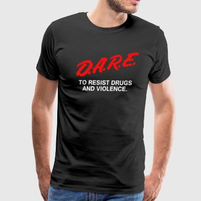 D A R E Anti Drugs - Men's Premium T-Shirt